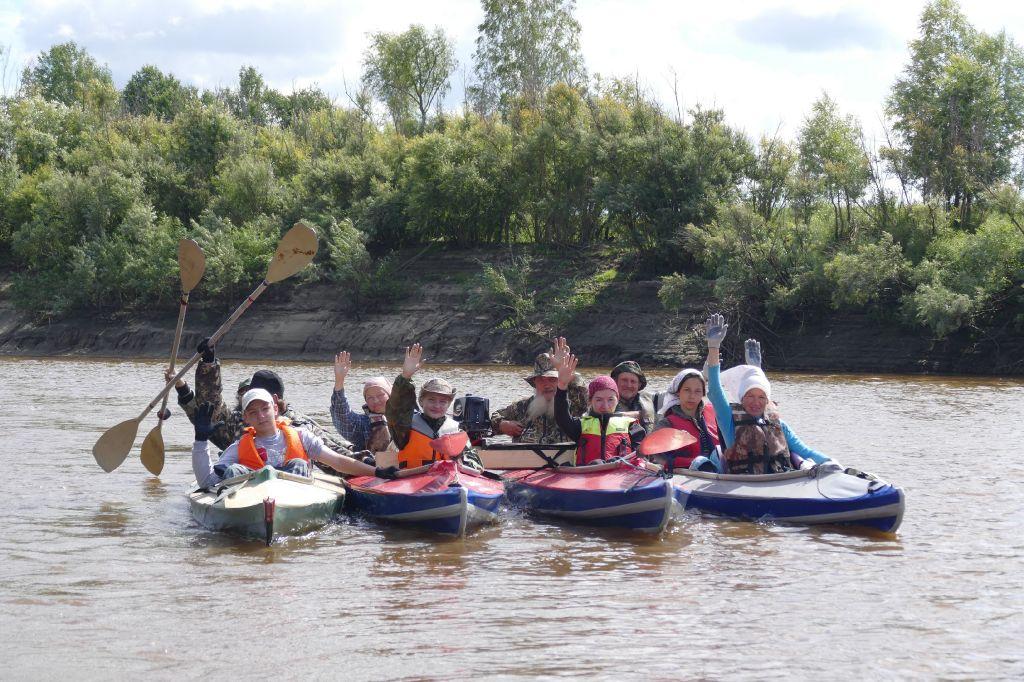 Спасс на водах Усть-Тара