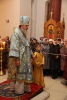 Мощи святой блаженной Матроны Московской на сибирской земле