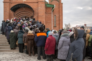 Жители нашей епархии поклонились честным мощам блаженной старицы Матроны Московской