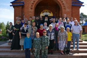Воскресная Литургия в Муромцево