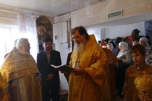 Богослужение в Черлаке