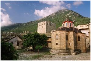 Иверский монастырь на Афоне