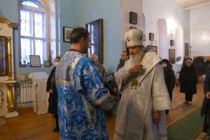 Литургия в Воскресенке