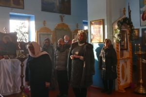 Литургия в Кормиловке