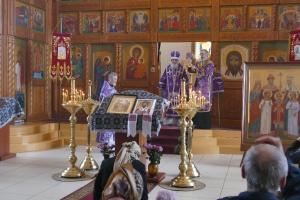 Литургия и молебен 15 марта