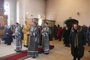 Соборная Литургия в Калачинске