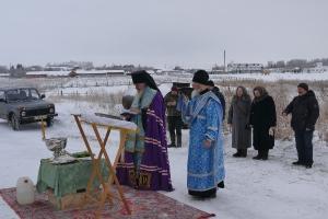 Освящение куполов в Серебряном