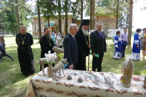 Престольный праздник в селе Рагозино